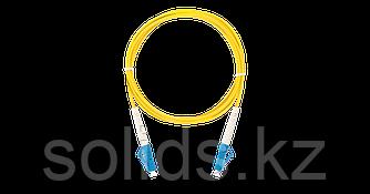 Патч-корд соединительный  LC/UPC-LC/UPC одинарный, LSZH, 2м