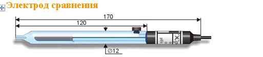 Электрод сравнения ЭСр-10101/3,5, (3,5 М KCl)