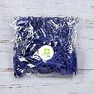 Бумажный наполнитель для оформления подарков. Цвет - Синий 30 гр., фото 2