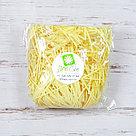 Бумажный наполнитель для оформления подарков. Цвет - Желтый 30 гр., фото 2
