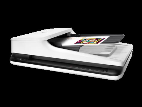 Сканер HP Scanjet Pro 2500 f1 L2747A, A4, 600x600 dpi, 20 стр. или 40 изобр. в минуту (300dpi)