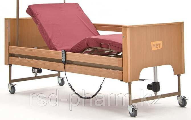 MET TERNA Кровать медицинская функциональная с регулировкой высоты (деревянное ортопед. ложе), фото 2