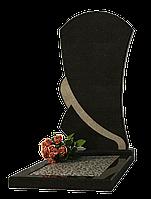 Памятник из черного гранита ПГ-10