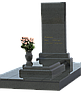 Комплекс из гранита на 1 могилу МКГ2