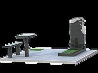 Комплекс могильный на 1 могилу МКГ15