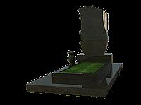 Гранитный комплекс на 1 могилу МКГ16