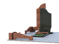 Могильный комплекс на 1 могилу МКГ24
