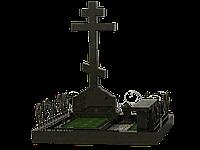 Гранитный комплекс на 1 могилу МКГ27