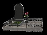 Комплекс из гранита на 1 могилу МКГ29