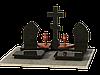 Могильный комплекс гранитный на 2 могилы МКГ44