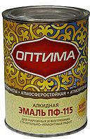 "Эмаль ПФ-115 ""Оптима"" желтая 2.7кг"
