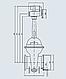 Задвижка 31с942р литая с гуммированным клином с выдвижным шпинделем фланцевая, фото 2