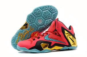 Баскетбольные кроссовки Nike Lebron 11 (XI) Elite Low красные, фото 2