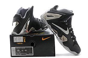Баскетбольные кроссовки Nike Lebron 11 (XI) Elite Low черные, фото 2