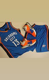 Баскетбольная форма Oklahoma City