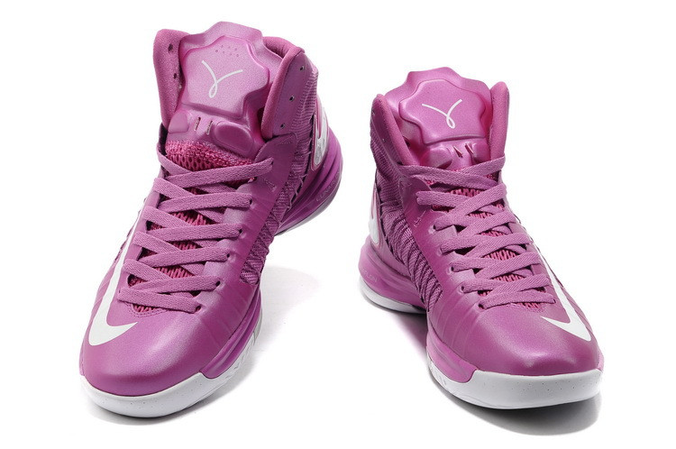 Nike Lunar Hyperdunk X  сиреневые баскетбольные кроссовки