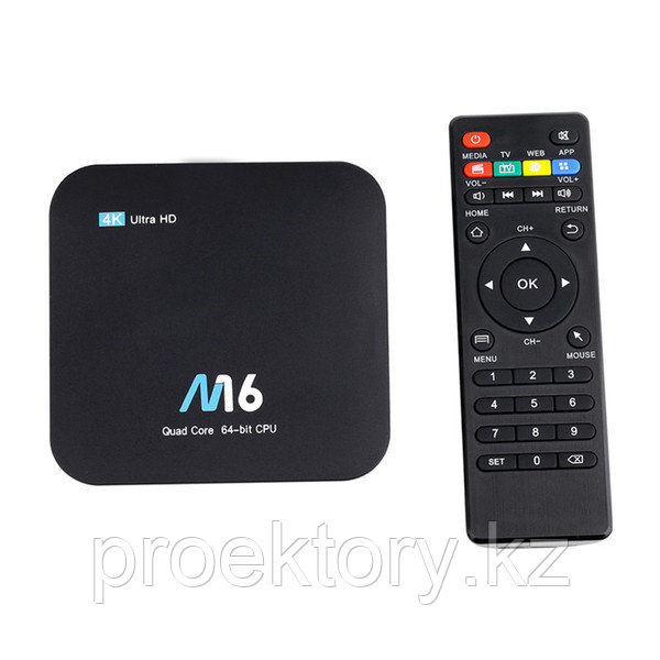 TV Box M16, 4K, 2GB, smart tv,