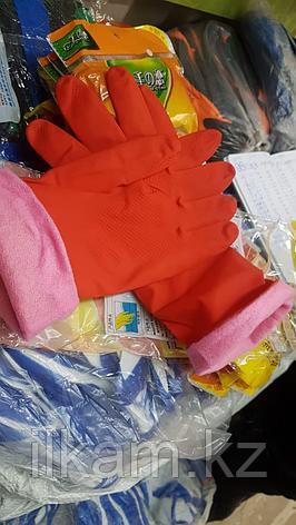 Перчатки резиновые утепленные, фото 2
