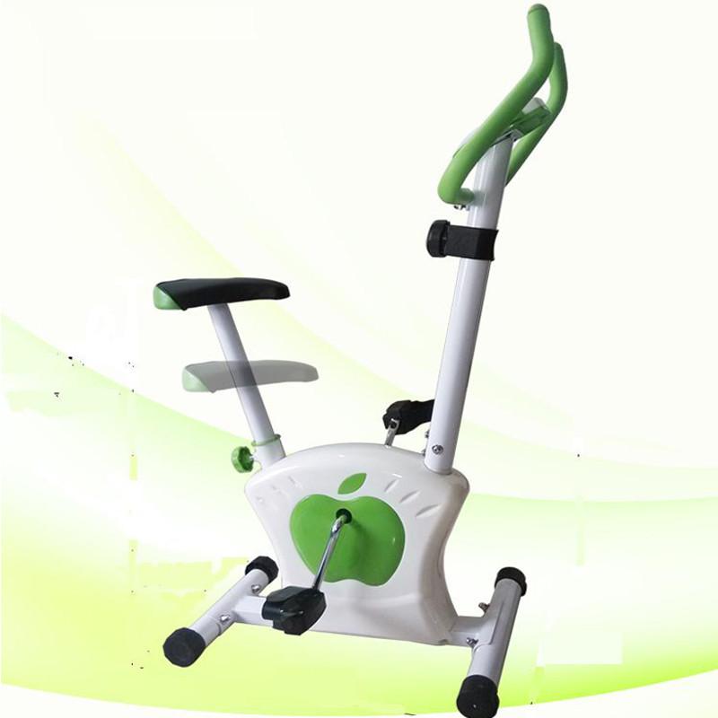 Велотренажер - Magnetic Bike (AL6017), (Зеленый-белый)