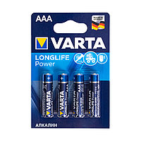 Батарейка VARTA Long Life Power Micro 1.5V - LR03/ AAA (4 шт) (4903) .