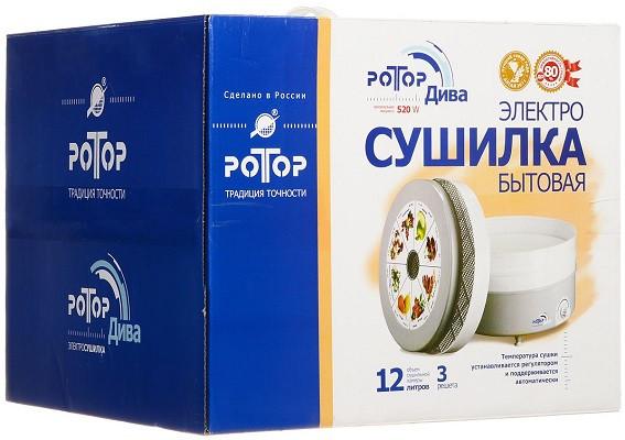 """Электросушилка """"Дива"""" СШ-007-01 поставляется в фирменной упаковке (нажмите на фото для увеличения)"""