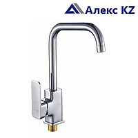 Смеситель KOLAG 1576 одноручный для кухни с высоким поворотным изливом