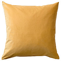 Чехол на подушку 50х50 САНЕЛА золотисто-коричневый