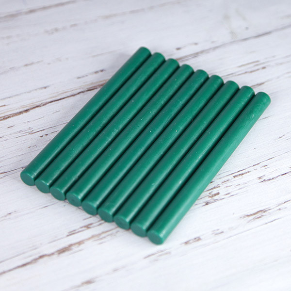 Декоративный сургуч. Цвет - Зеленый.