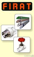 Трубы и фитинги из полипропилена FIRAT (Турция)