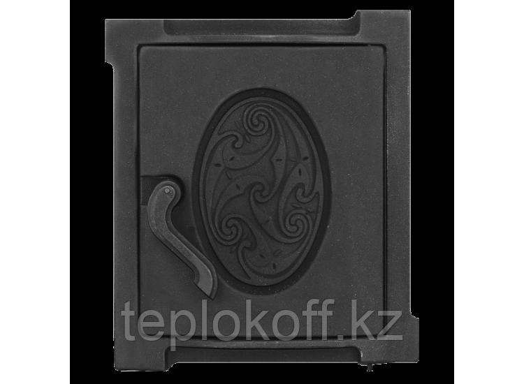 Дверь топочная уплотненная ДТУ-4А 250x280 RLK 519, крашеная (Рубцовск-Литком)
