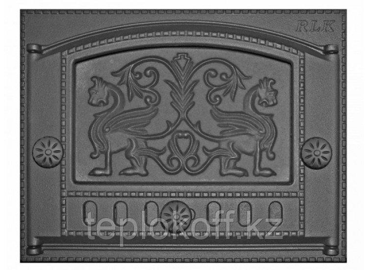 Дверь каминная топочная ДК-2Б 375х300 RLK 325, крашеная (Рубцовск-Литком)