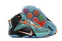 Кроссовки для баскетбола Nike Lebron 12 Elite Black Blue, фото 3