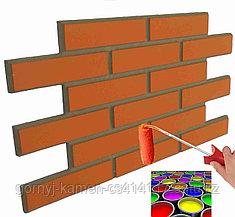 """Фасадная облицовочная бетонная панель - """" Шамотный кирпич"""", фото 2"""