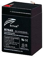 Аккумуляторная батарея Ritar RT645  (6V 4.5Ah)