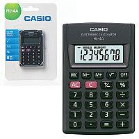 """Калькулятор карманный """"CASIO"""" 8 разряд """"HL-4A"""""""