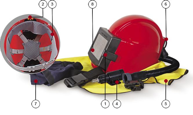 Шлем пескоструйный Comfort