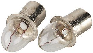 Лампа криптоновая СВЕТОЗАР без резьбы,  для фонарей с 4-мя батареями, 4,8 В / 0,75 А SV-56973