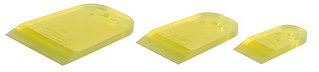 """Набор STAYER """"MASTER"""": Шпатели резиновые прозрачные, 3шт, 40/60/80мм  10155-H3_z01"""