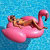 Intex надувной розовый фламинго 218 х 211 х 136 см, фото 4