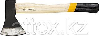 """Топор STAYER """"MASTER"""" кованый с деревянной рукояткой, 0,8кг 20610-08"""