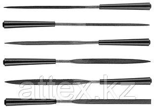 "Набор STAYER ""MASTER"" Надфили, ручка из ПВХ, 100мм, 6шт  1603-10-H6_z01"