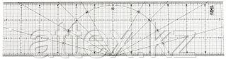 Линейка OLFA разметочная, метрическая, 150х600мм OL-MQR-15x60