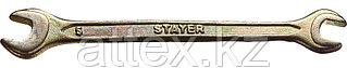 "Ключ STAYER ""MASTER"" гаечный рожковый, 6х7мм 27038-06-07"