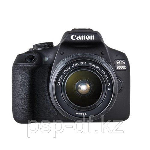 Фотоаппарат Canon EOS 2000D kit EF-S 18-55mm f/3.5-5.6 IS II гарантия 1 год