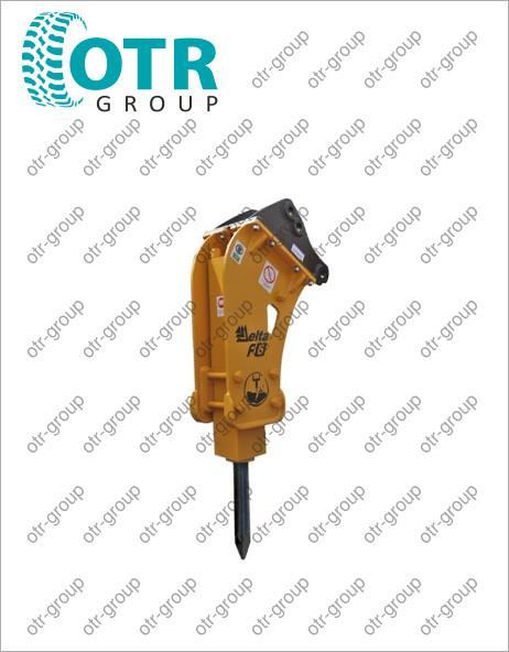 Гидромолот на экскаватор погрузчик Komatsu WB93S-5