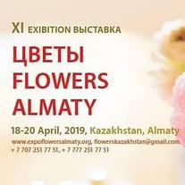 Выставка. Exhibition: Цветы.Фазенда Flowers Almaty  18 апреля 2019