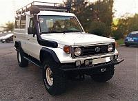 Toyota Land Cruiser 70, 71, 73, 74, 75, 77 серии шноркель- T4