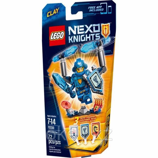 LEGO Nexo Knights: Клэй – Абсолютная сила 70330