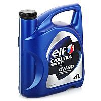 Моторное масло ELF EVOLUTION 900 FT 0W-30 4литра
