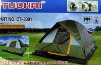 Четырехместная палатка TUOHAI CT-3301 водонепроницаемая (210* 210* h 145 см)